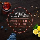 What's in your kitchen to colour your hair naturally?