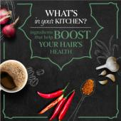 What's in your kitchen to boost your hair's healthy growth?