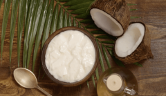 Nature's Secret: Coconut & Yogurt for Dry Hair